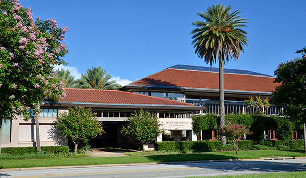 Poynter building in St. Petersburg, Florida