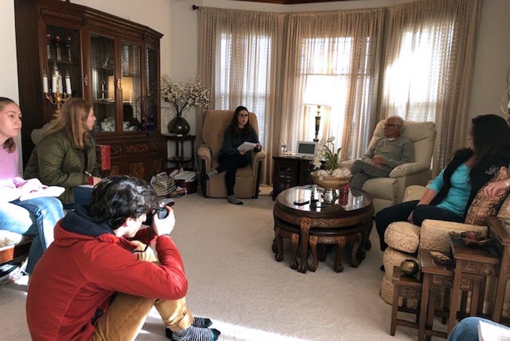 A team of student journalists from the Medill Investigative Lab interview a family in Indian Country devastated by opioid abuse.