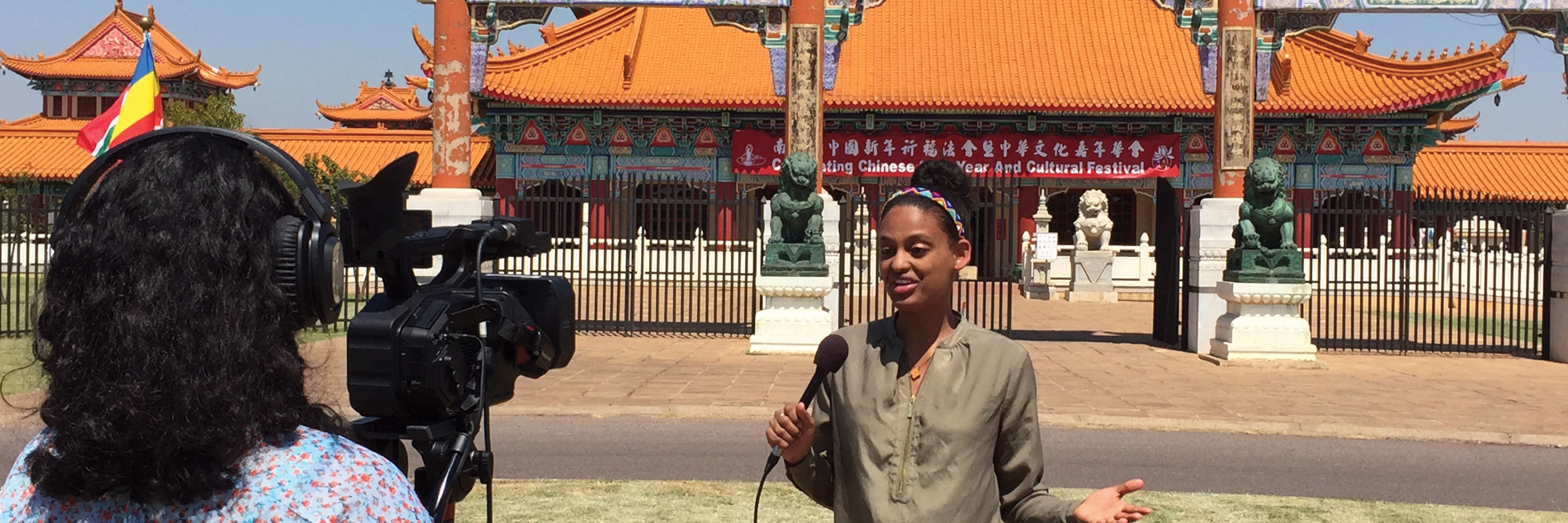 Medill MSJ student reports on camera in Asia