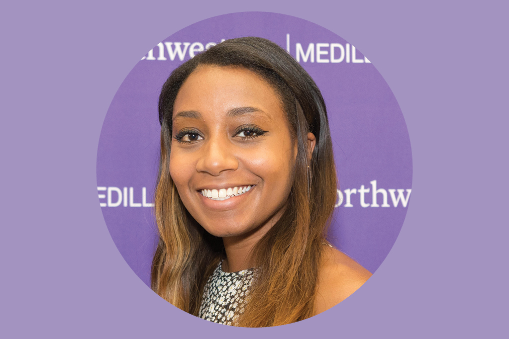 Medill journalism alumna Haley Smith who works at Facebook