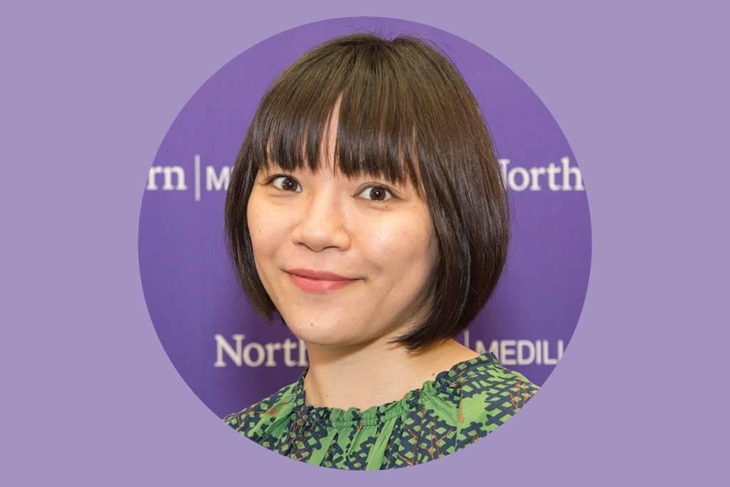 Medill journalism alumna Shen Lu who studied business reporting and works at CNNMoney