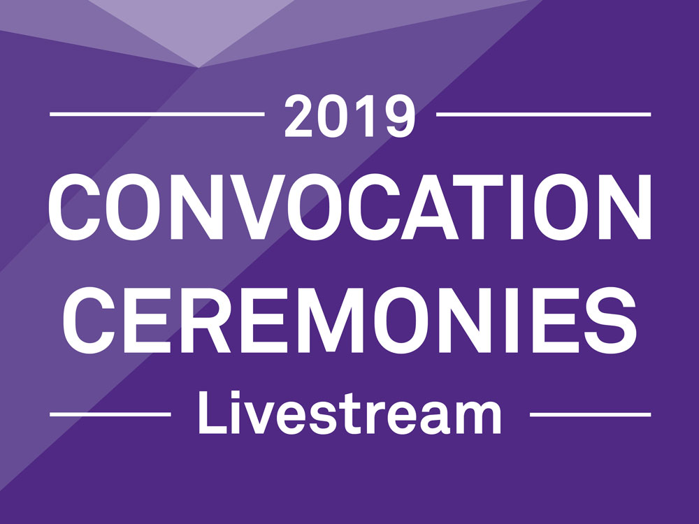 2019 Convocation Ceremonies Livestream