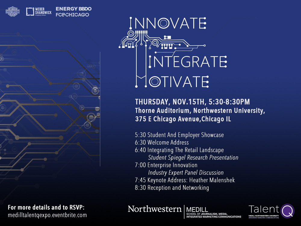 Innovate, Integrate Motivate: talentQ Expo 2018; Nov. 15, Chicago