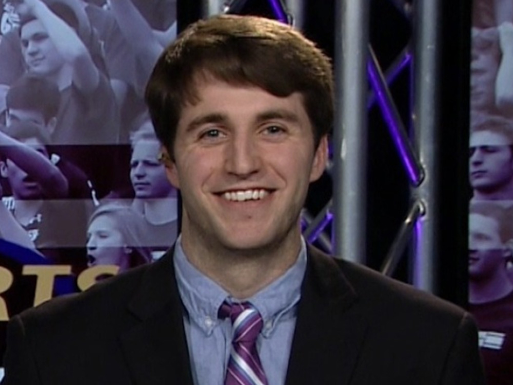 Medill undergraduate journalism student Will Greer