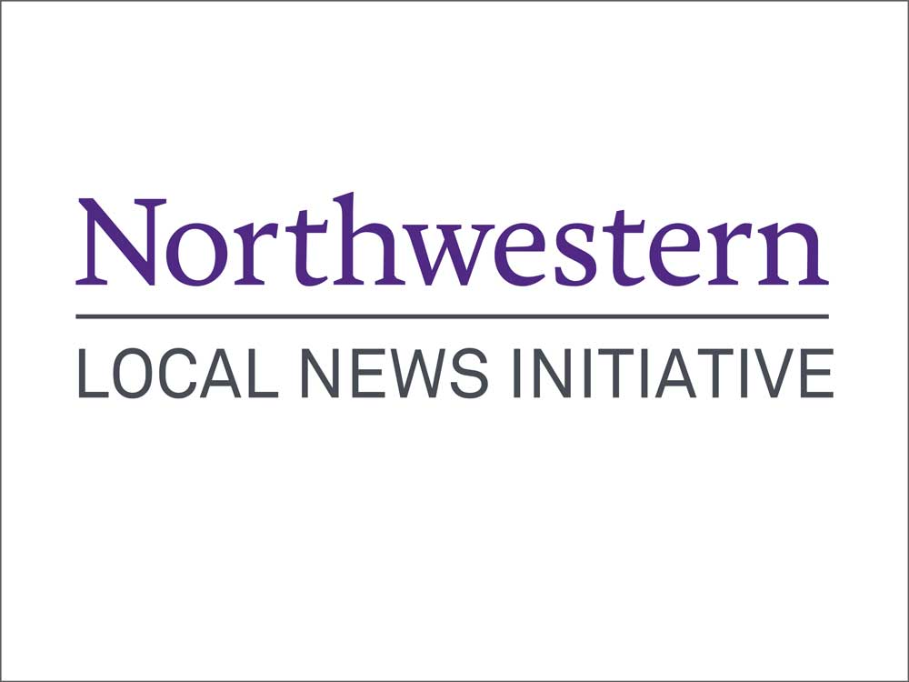 Northwestern Local News Initiative Logo