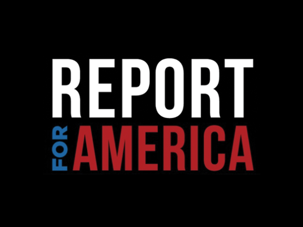 Report for America logo