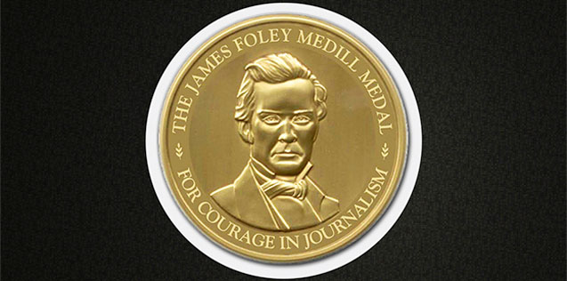 James Foley Medal for Courage