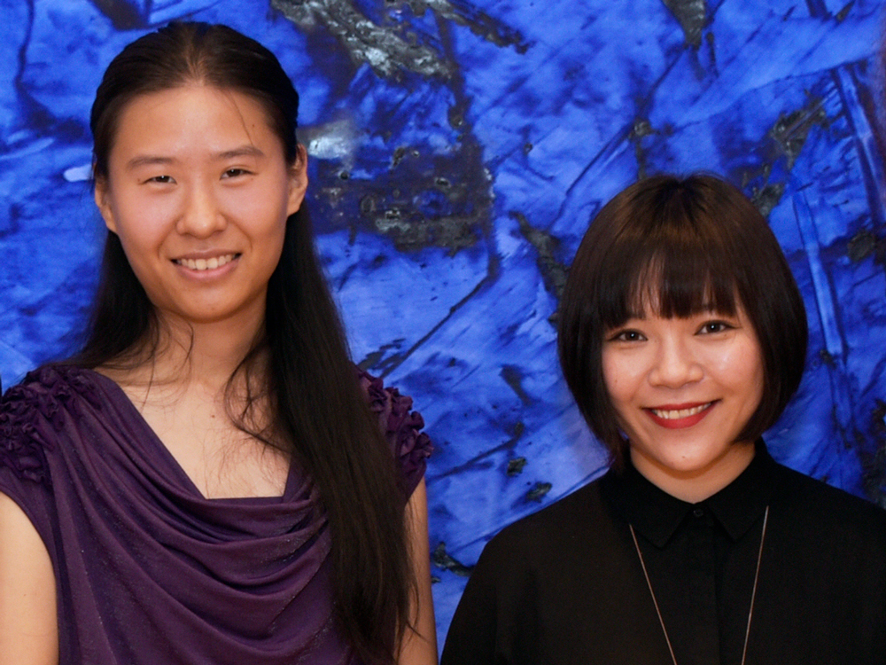 FPA Scholarship Recipients Jingnan Huo and Shen Lu