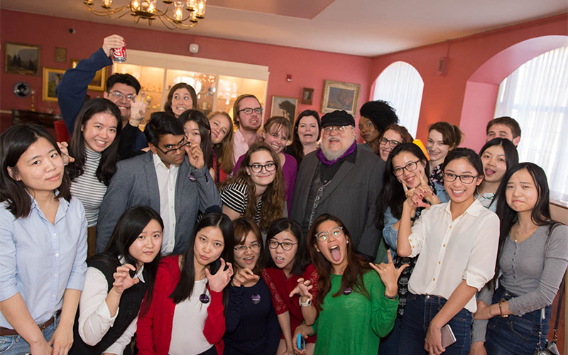 Lunch with George R. R. Martin