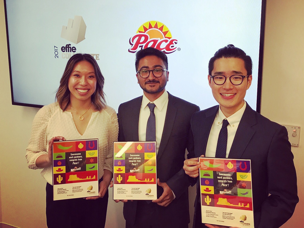 IMC Certificate Students win EFFIE Award