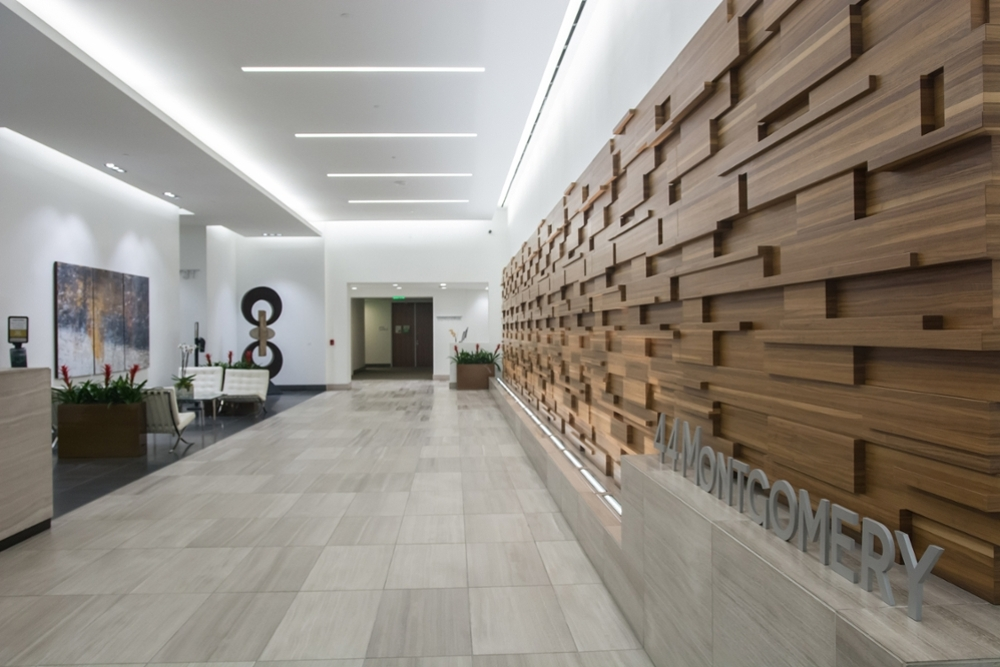 Entry of Medill space at 44 Montgomery in San Francisco