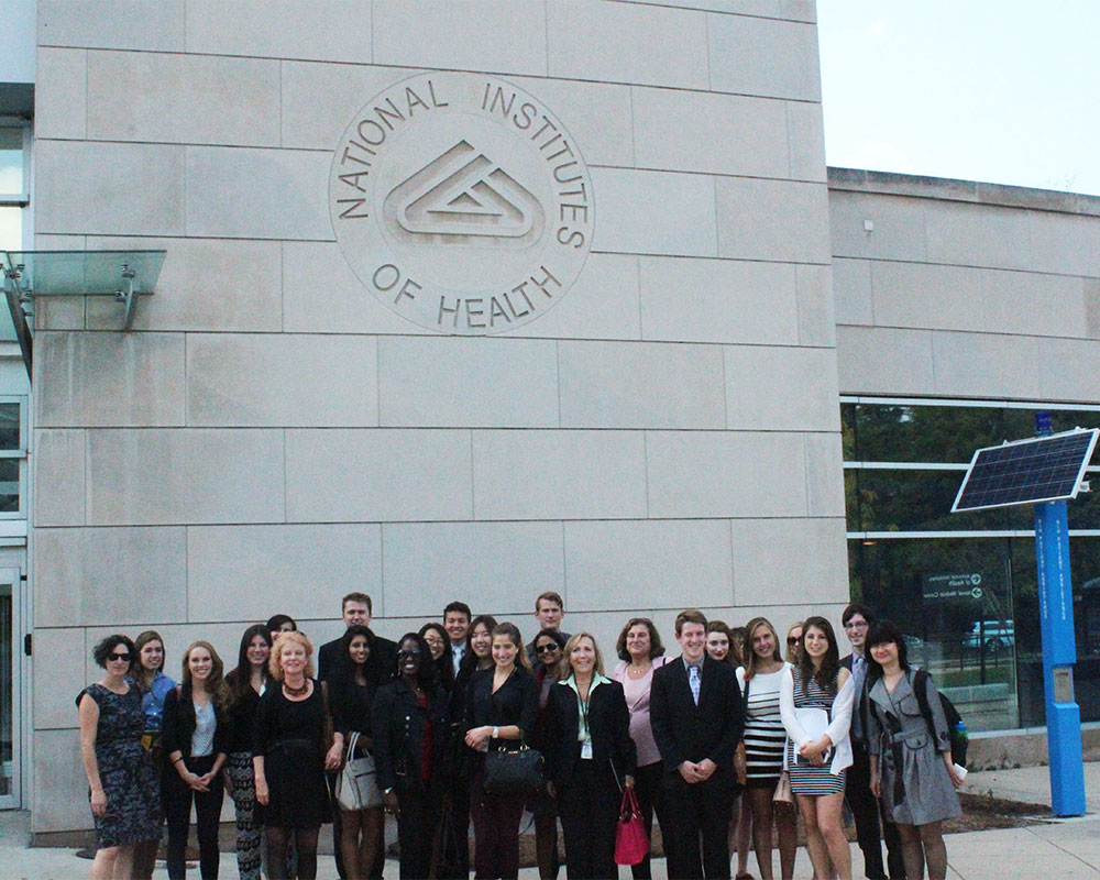 Medill students engage with business, media, policy leaders in D.C.