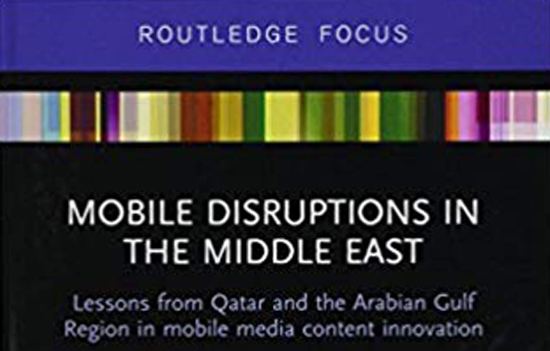 "Book cover for ""Mobile Disruptions in the Middle East"""