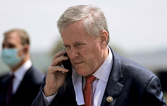 The White House chief of staff, Mark Meadows